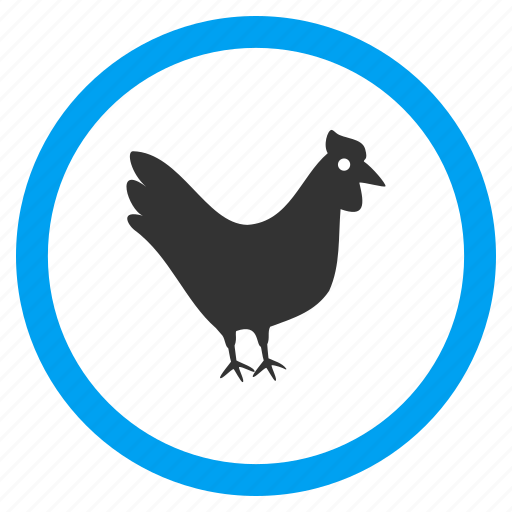 bantam, chick, cock, cock-a-doodle-doo, hen chicken, poultry, rooster icon