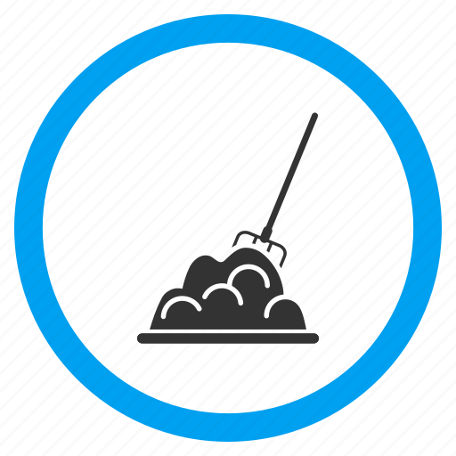 Crap, dirty sand, dung, manure, muck heap, pile, shit icon - Download on Iconfinder