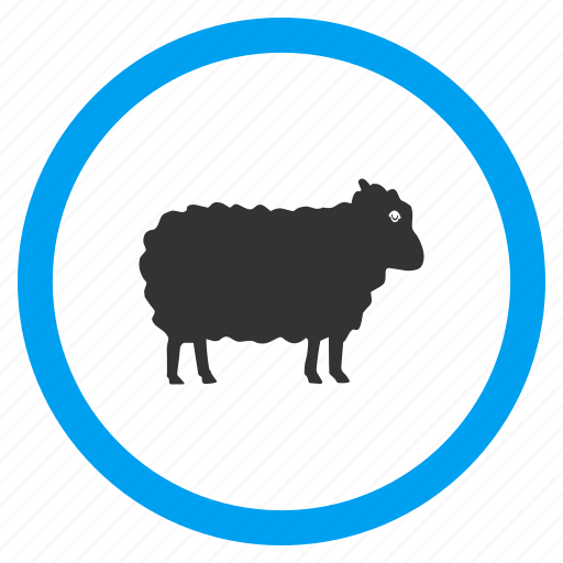 Agriculture, animals, lamb, ram, sheep, veterinary, wool icon - Download on Iconfinder