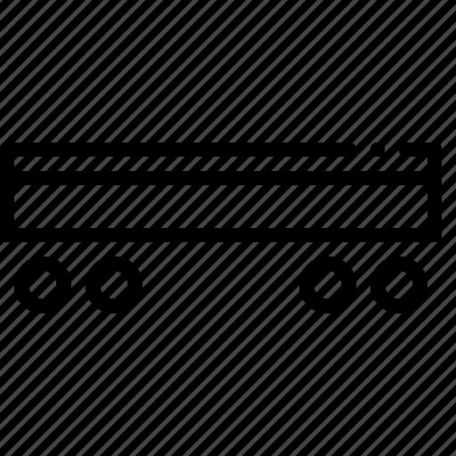 agro, carriage, railway, trailer icon