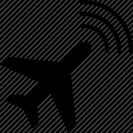 aircraft, airplane, awacs, monitoring, radar, radio intelligence, warfare icon
