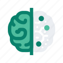 brain, idea, mind, reality, thought, virtual, vr icon