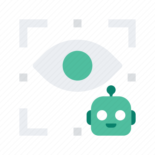 eye, reality, robot, view, virtual, vr icon