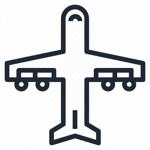 air, airplane, fly, transport, travel icon