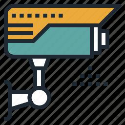 camera, cctv, mornitoring, security, surveillance icon