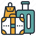 bag, claim, handbag, luggage, travel icon