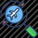 search, flight