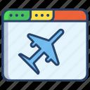 flights, website
