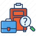 lost, found, luggage