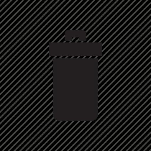 airport, bin, garbage, trash icon