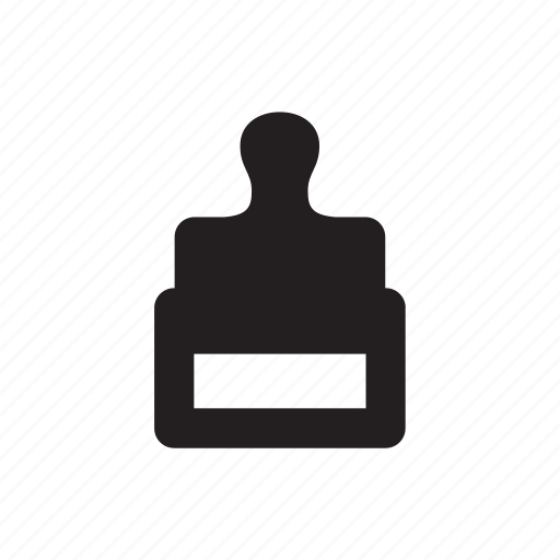airport, document, stamp icon