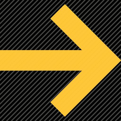 Arrow right, right, right arrow icon, right icon, right symbol icon - Download on Iconfinder