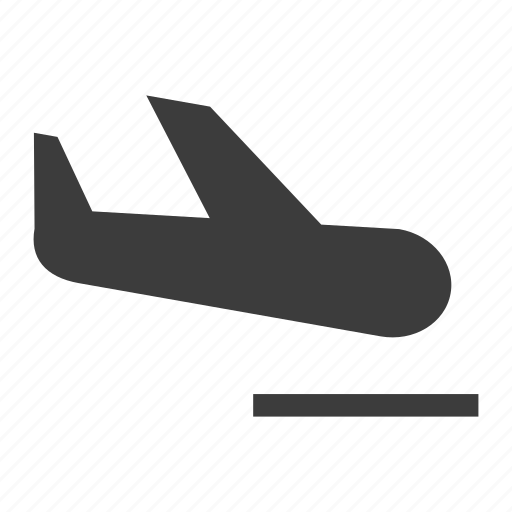 Airplane, arrivals, landing, plane icon - Download on Iconfinder