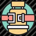 belt, chair, fasten, safety, seat icon