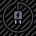 area, battery, charge, plug, power