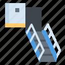 stair, airprot, passenger, flight icon