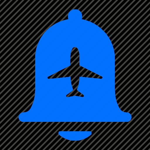 airplane, alert, flight, notification icon