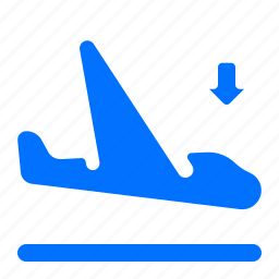 airplane, airport, arrival, flight icon