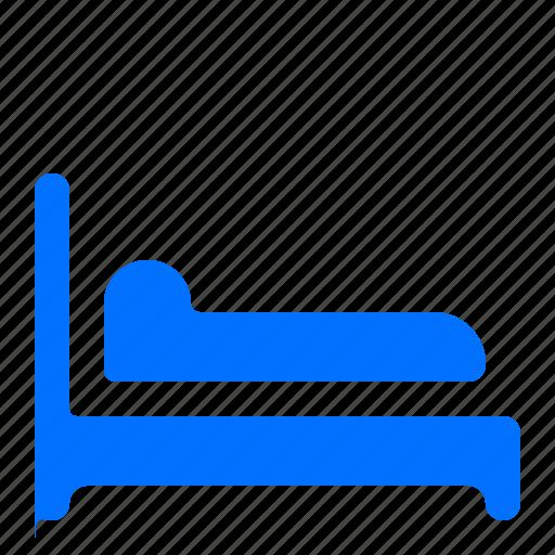 bed, hotel, room, single icon