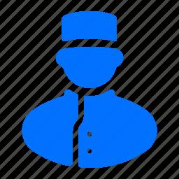 bell boy, chef, man, service icon