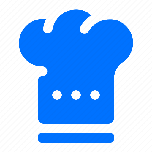 chef, cook, hat, meal icon