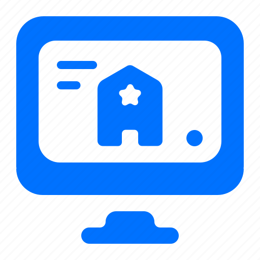 booking, computer, hotel, online icon