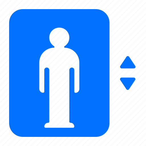 down, elevator, up icon