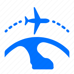airplane, flight, international, travel icon
