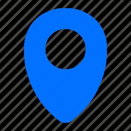 destination, location, navigation, pointer icon