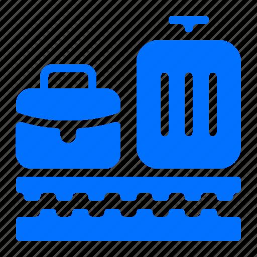 baggage, case, luggage, suitcase icon