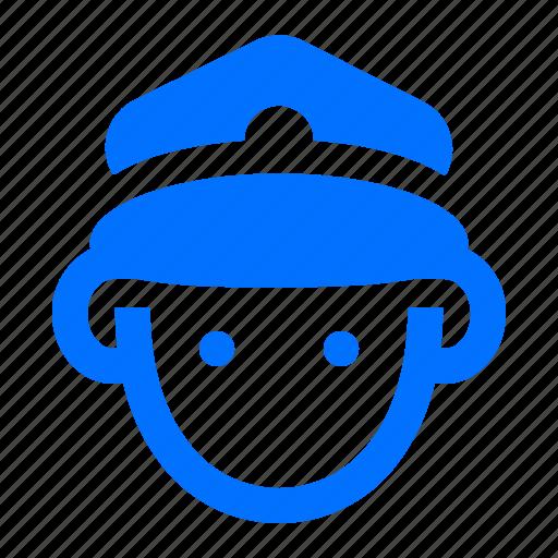 avatar, man, pilot, service icon