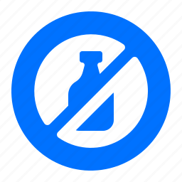 drinks, liquids, no, prohibited icon
