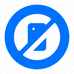 not allowed, prohibited, warning icon