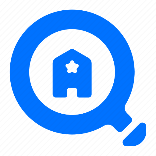find, hotel, rating, search icon