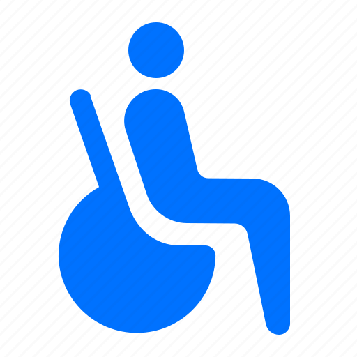 disabled, facilities, wheelchair icon