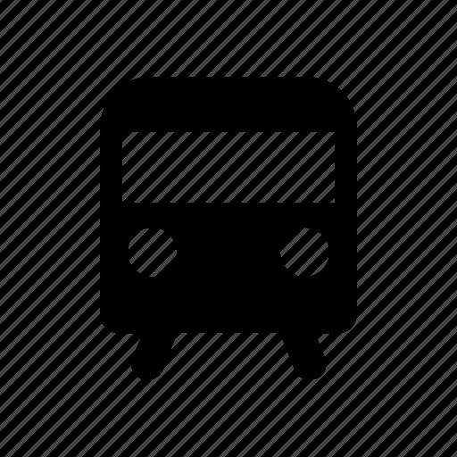 metro, subway, train icon