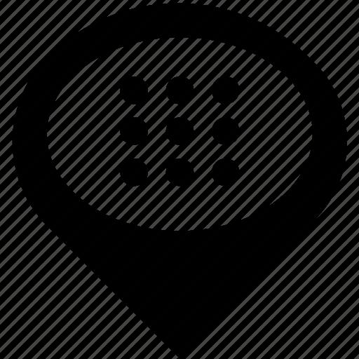 apps, grid, layout, menu, navigation icon