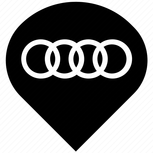 audi, auto, automobile, car, dealer, transport icon
