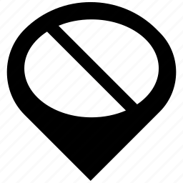 ban, pointer, sign icon