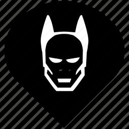 batman, comics, hero, superhero icon