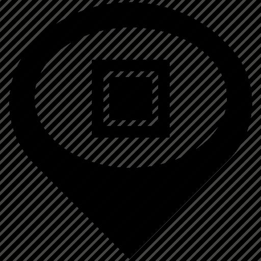 form, frame, geometry, media, shape, square icon
