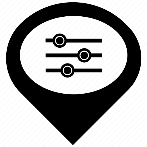 geo, gps, location, menu, navigation, pointer icon