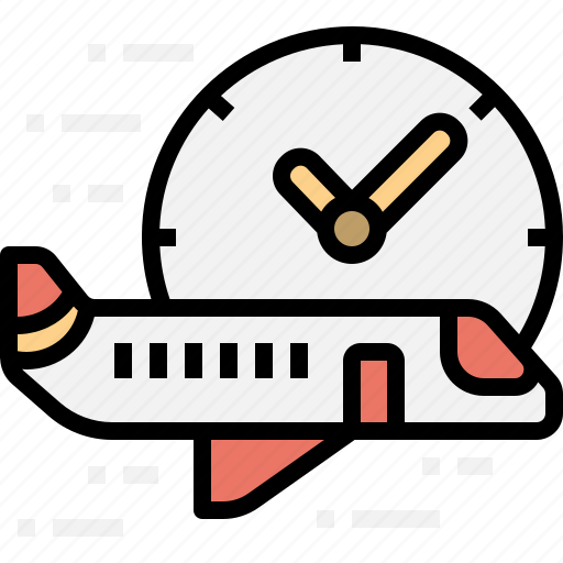 aeroplane, airplane, on, performance, time, transportation icon