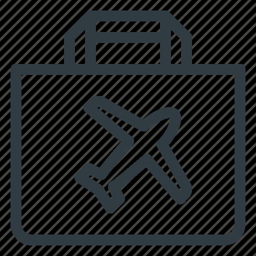 airport, duty, free, shop, souvenir, terminal icon