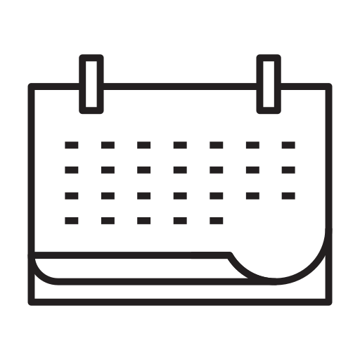 air, airline, airplane, airport, airship, calendar icon