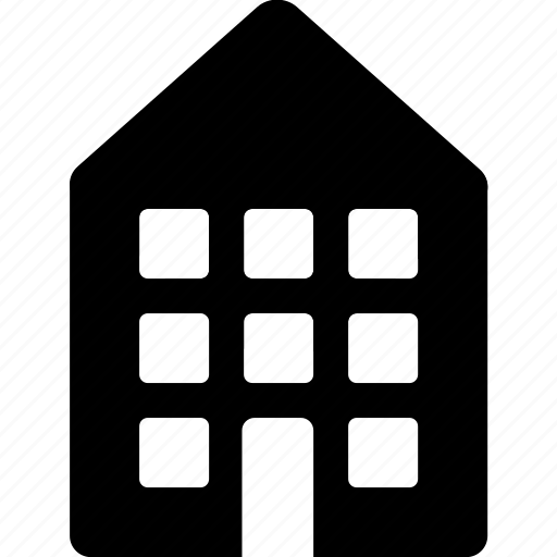 apartment, building, city, home, hotel, house icon
