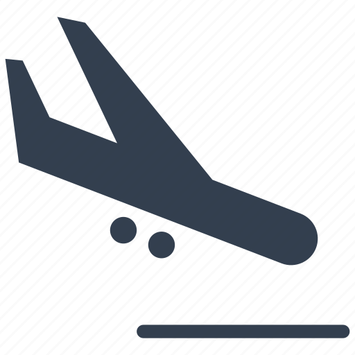 airplane, airport, arrivals, flight, plane icon