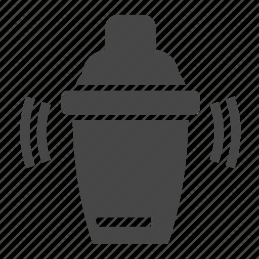 cocktail, shake, shaker icon