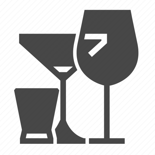 Alcohol, drink, glasses icon - Download on Iconfinder