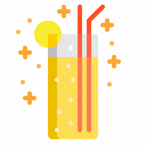 Alcohol, alcoholic drink, cocktail, drink, lemon icon - Download on Iconfinder